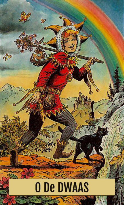 Tarotkaart De Dwaas uit de Arcus Arcanum Tarot