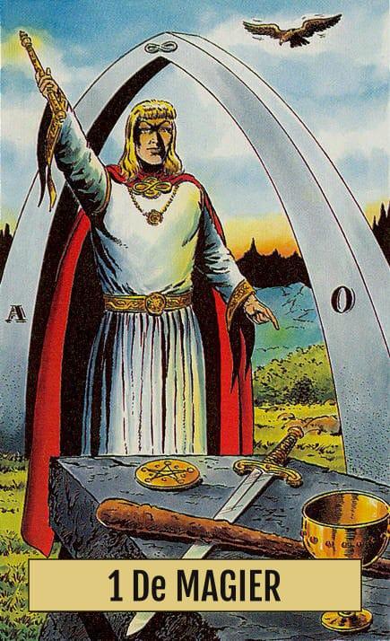 Arcus Arcanum Tarot 1 De Magiër