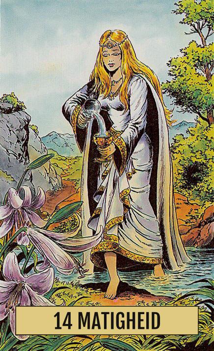 Arcus Arcanum Tarot 14 Matigheid