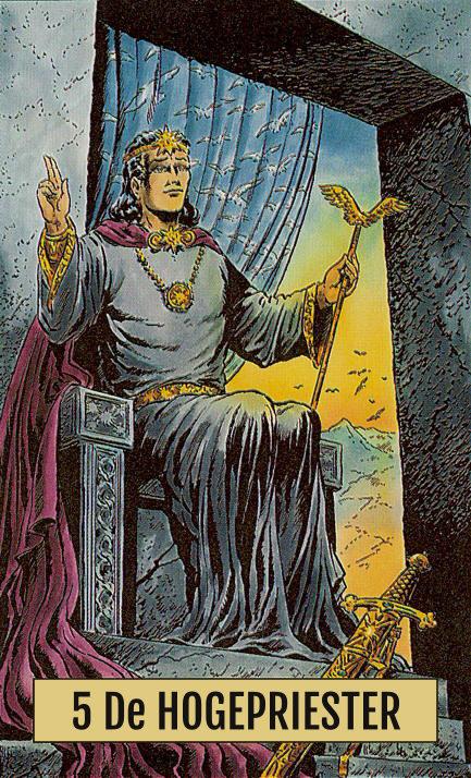 Arcus Arcanum Tarot 5 De Hogepriester