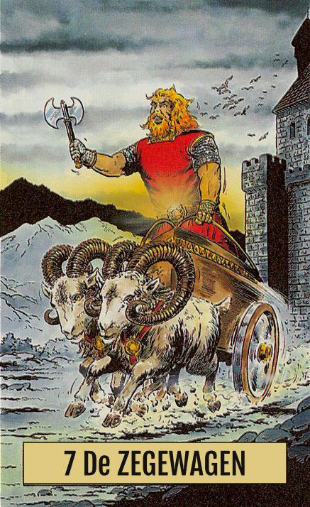 Arcus Arcanum Tarot 7 De Zegewagen