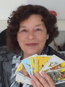 tarotkaarten en Nelly van der Werff