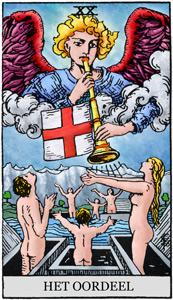 Tarotkaart Het Oordeel