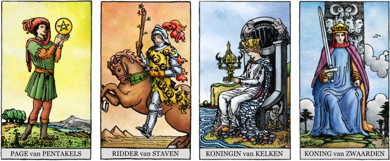 Tarot hofkaarten