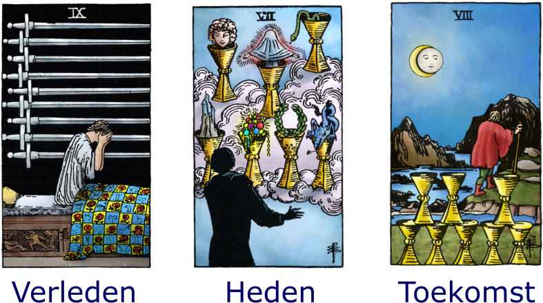 verleden heden toekomst tarotconsult