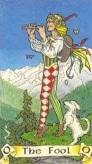 tarotkaarten de dwaas robin wood tarot