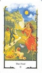 tarotkaarten old path tarot de dwaas