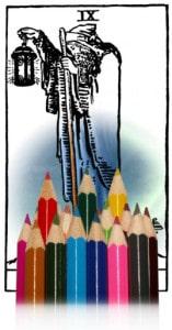 tarotkaarten kleuren kluizenaar
