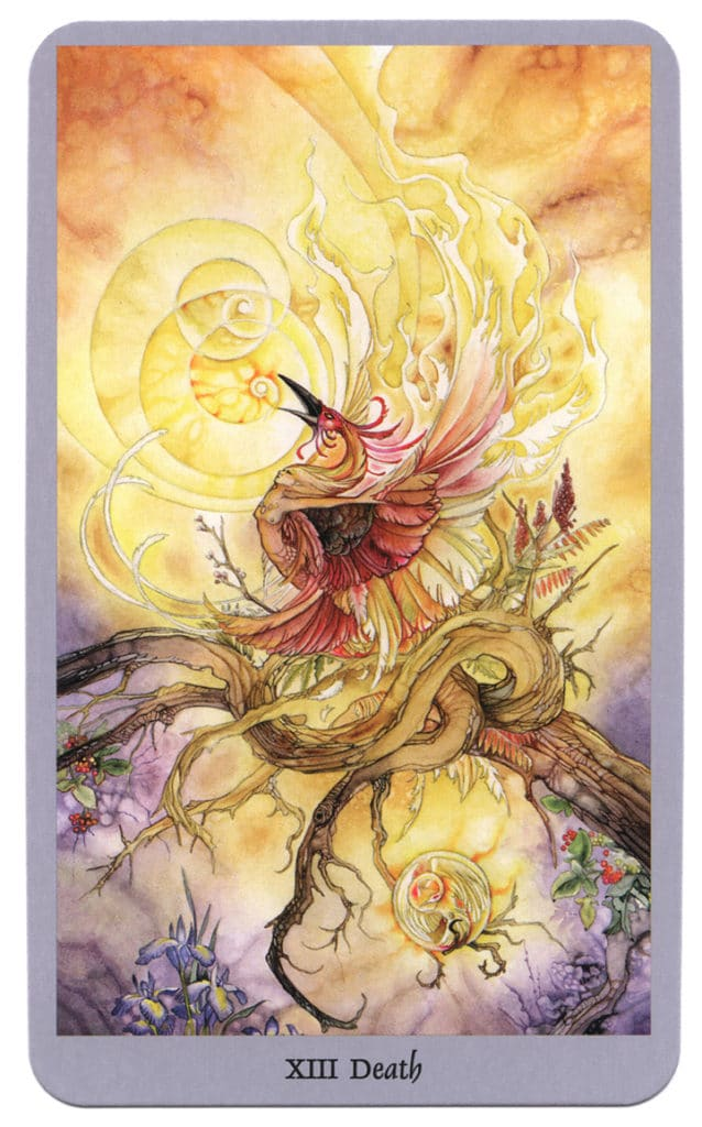 Shadowscapes Tarotkaart De Dood