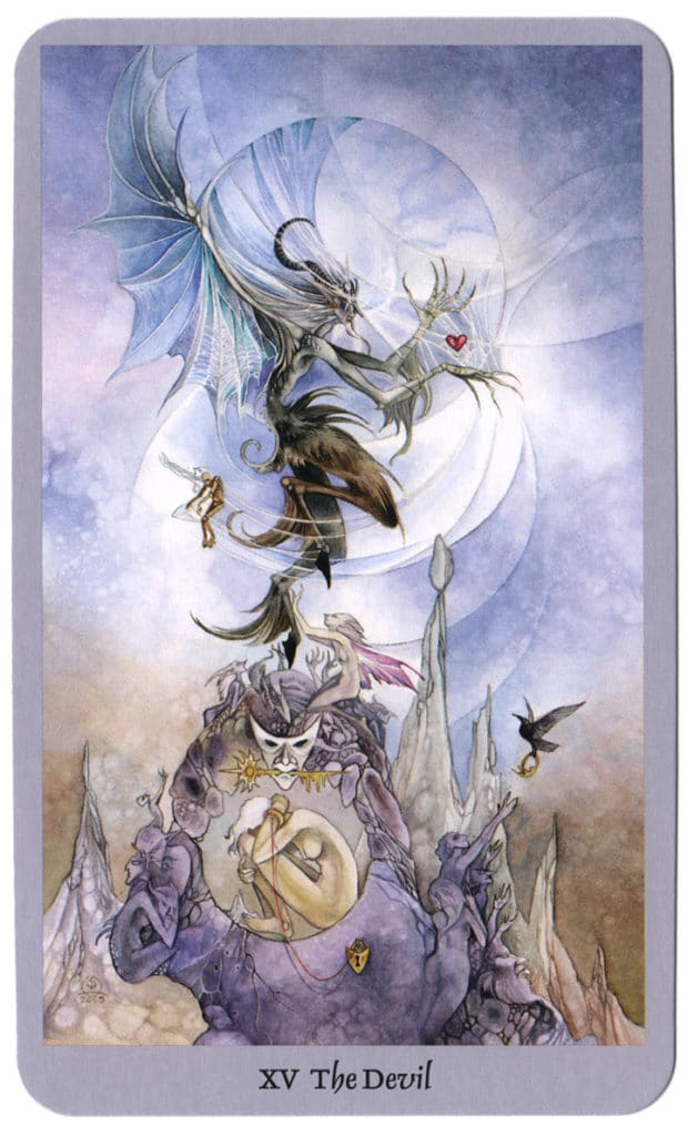 Shadowscapes Tarotkaart De Duivel