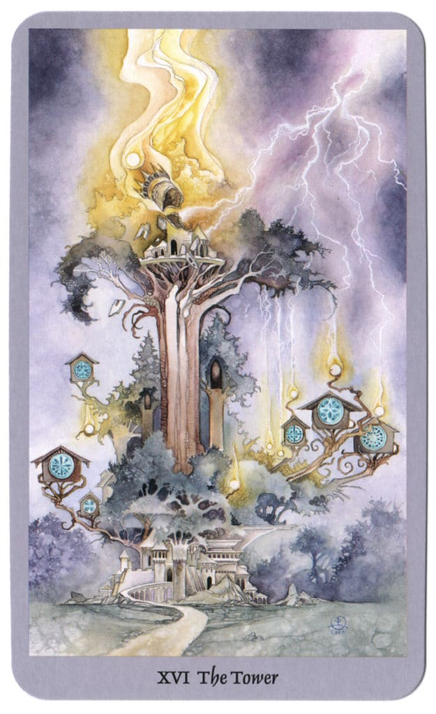 Shadowscapes Tarotkaart De Toren
