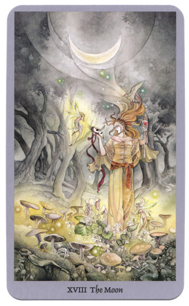 Shadowscapes Tarotkaart De Maan