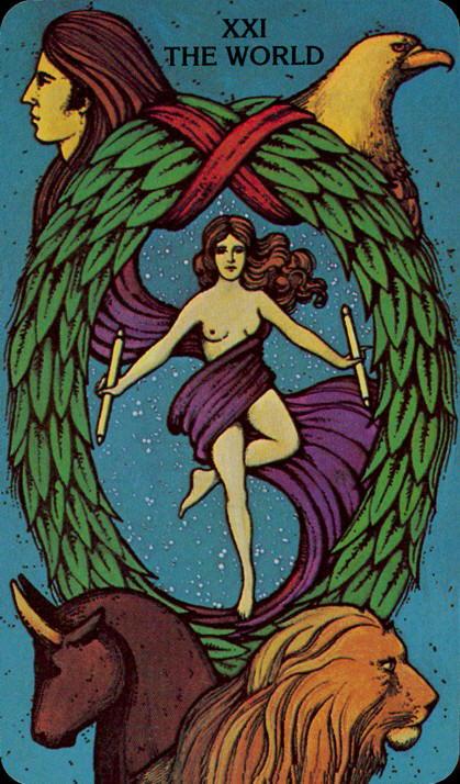 Morgan Greer Tarotkaart De Wereld