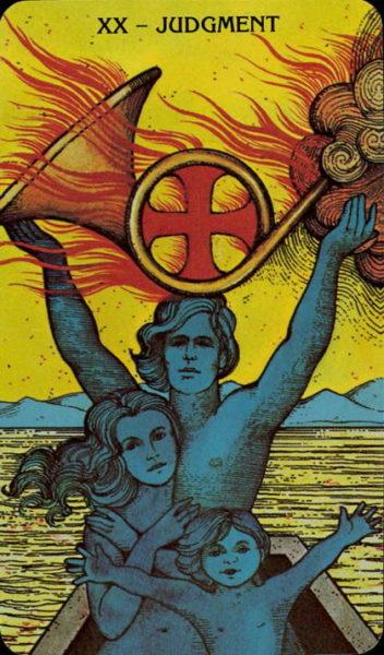 Morgan Greer Tarotkaart Het Oordeel