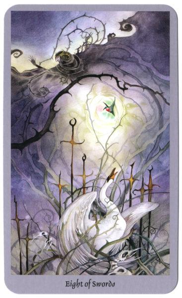 shadowscapes tarot zwaarden 8