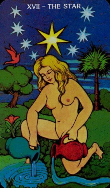 Morgan Greer Tarotkaart De Ster