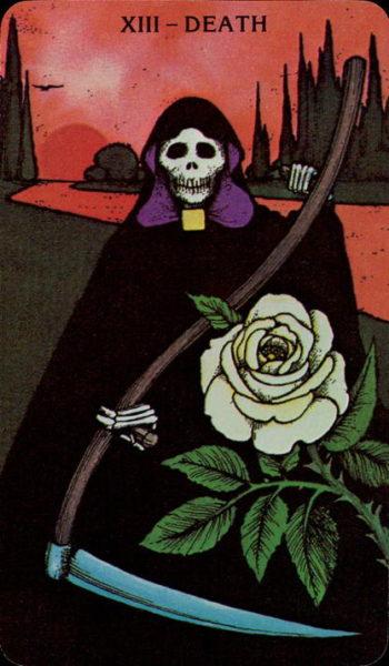 Morgan Greer Tarotkaart De Dood