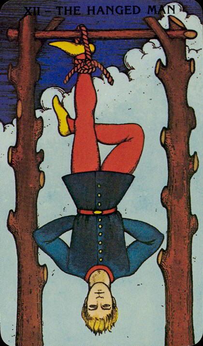 Morgan Greer Tarotkaart De Gehangene