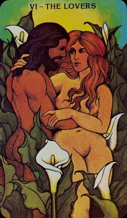 Morgan Greer Tarotkaart De Geliefden