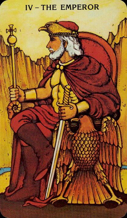 Morgan Greer Tarotkaart De Keizer