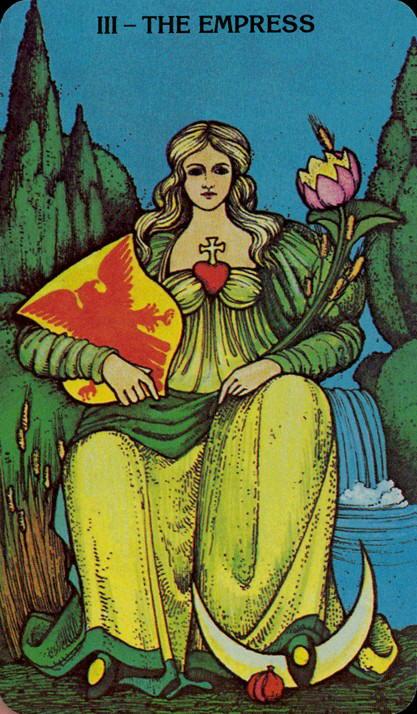 Morgan Greer Tarotkaart De Keizerin