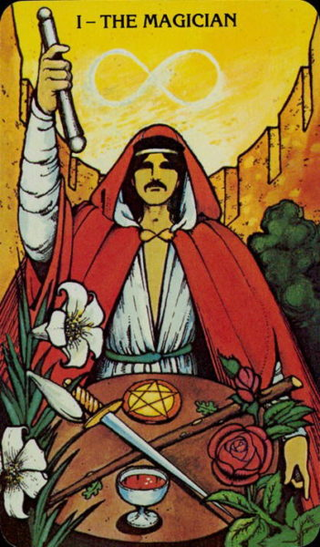 Morgan Greer Tarotkaart De Magiër