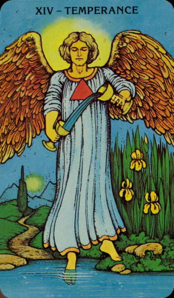 Morgan Greer Tarotkaart Matigheid