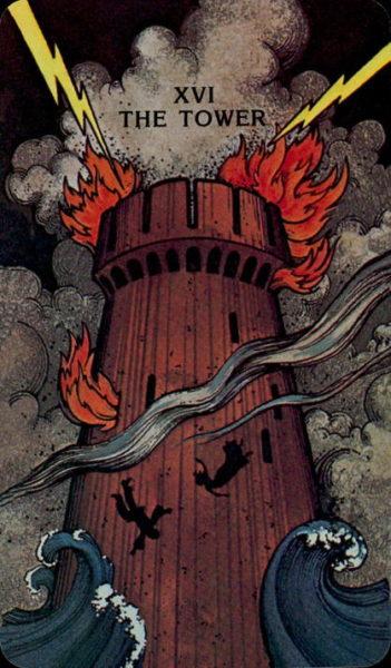 Morgan Greer Tarotkaart De Toren