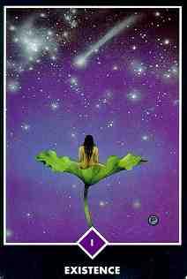 Osho Zen tarotkart het bestaan, de magiër