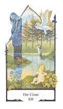 old path tarot the_close tarotkaart de dood