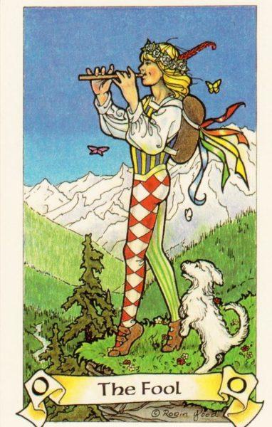 Robin Wood Tarotkaart De Dwaas