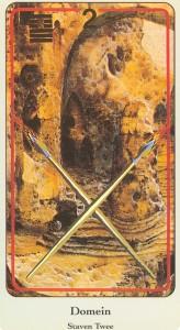 haindl tarotkaarten staven 2