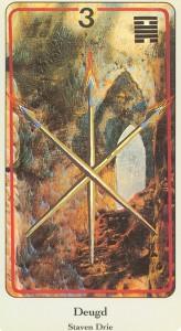 haindl tarotkaarten staven 3