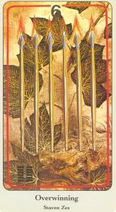 haindl tarotkaarten staven 6