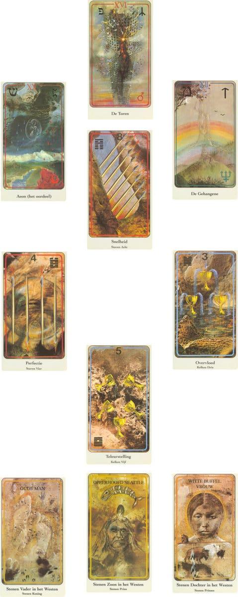 tarotconsult met haindl tarotkaarten hagal legpatroon