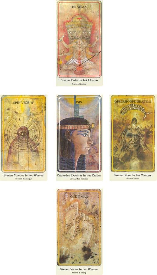 archetypen legpatroon met haindl tarotkaarten