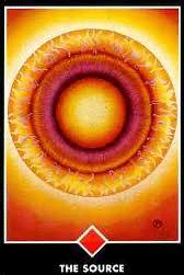 osho zen tarotkaart de bron vuur aas