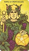 Morgan Greer Tarot kaart koning van pentakels