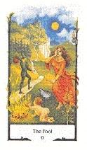 old path tarot the fool tarotkaart