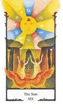 Sun Old Path tarot