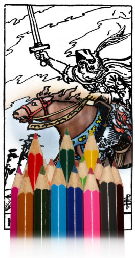 tarotkaarten kleuren