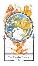 Wheel of Fortune Old Path Tarot