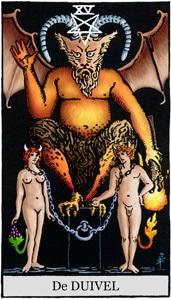 tarotkaart de duivel