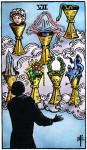 tarotkaart kelken 7