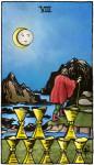 tarotkaart kelken 8