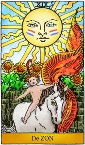 tarotkaart de zon voor nederland