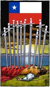 tarotkaart zwaarden tien wk 2014 nederland chili