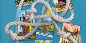 tarot geen touw aan vast te knopen
