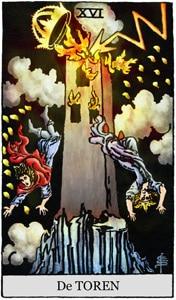Gratis Tarot 16-De-Toren