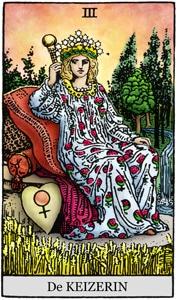 Tarot online de keizerin